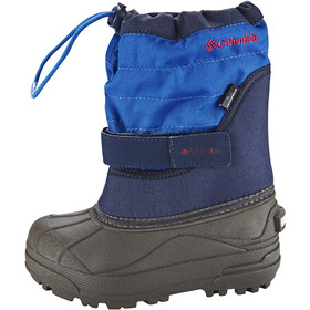 Columbia Powderbug Plus II Stiefel Kinder collegiate navy / chili